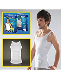 VelKro Slim N Lift Body Shaper for Men (White, XL)