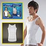 #8: VelKro Slim N Lift Body Shaper for Men (White, XL)