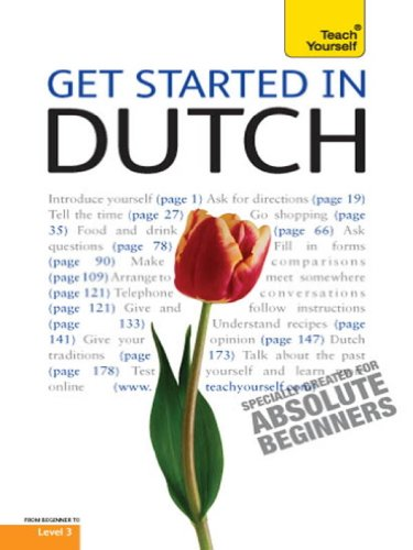 Get Started in Beginner's Dutch: Teach Yourself (English Edition)