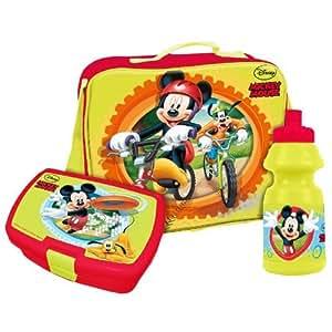 Boite a goûter + Gourde + Sac enfant Mickey Disney