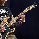 ammoon Clip-On Tuner Gitarre Stimmgerät/Tuner mit großem LCD-Display für Gitarre, Ukulele, C/D Violine, Bass, Geige, Mandoline, Chromatisches Stimmgerät mit Batterie, Automatisch Ausgeschaltet - 6