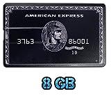 UK A2Z ® American Express Black 8GB Credit Card Style USB Flash Drive / Memory Stick