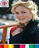 Baby Wrap Sling by Liberty Slings With FREE Lambs Wool Fabric Insert for Chilly Days Bild 5