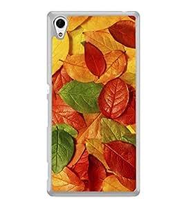 Fuson Designer Phone Back Case Cover Sony Xperia Z5 :: Sony Xperia Z5 Dual 23MP ( Fallen Leaves )