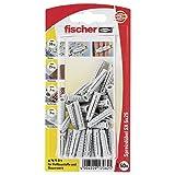 Fischer 17062 - Enchufe sx k expansión 5 x 25 mm con borde - multicolor (50 piezas)