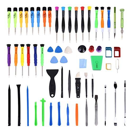 60 in 1 Präzisions Schraubendreher & Reparaturset / Werkzeuge für Smartphone Tablet Laptop Kleinelektronik -