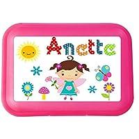 wolga-kreativ Brotdose Lunchbox mit Name Mädchen und Wunschmotiv mit Trennsteg Viele Motive preisvergleich bei kinderzimmerdekopreise.eu