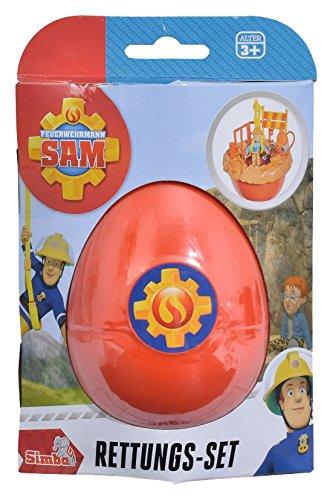 feuerwehrmann sam ei Simba 109251030 - Feuerwehrmann Sam Rettungsset Norman im Ei