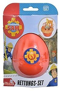 Simba 109251030-Bombero Sam Juego de Rescate Norman en EI