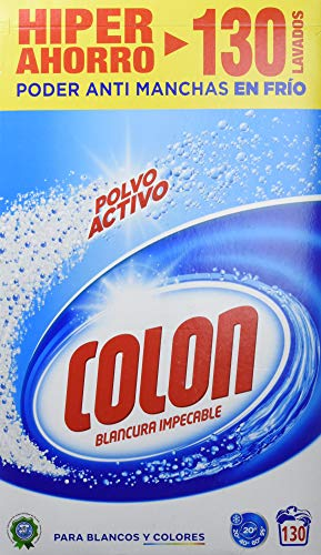 Mejor detergente para lavadora – Colon detergente en polvo