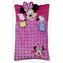 Joy Toy 14421 - Minnie Mouse - Cojín con bolsillo para pijamas (22 x 35 cm)