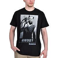 Walking Dead - T-shirt con motivo di Daryl con arco - Tratta dalla serie horror (Archi Wall Art)