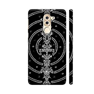 Colorpur Huawei Honor 6X Cover - Warmup Printed Back Case