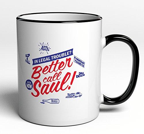 Tasse Better Call Saul für Fans der Serie / DVD - Breaking - Lebensdauer Von Dvd-filmen