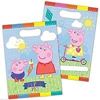 Peppa Pig Loot Bags - Pack of 8