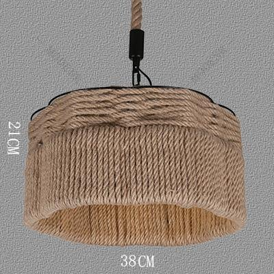 ZHFC-seil lampe retro - kreative industrie wind restaurant café boutique café kronleuchter,mdd004 - 15 - zelt