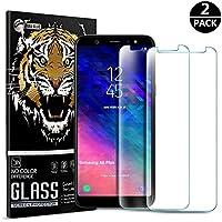 Zapig Premium Samsung A6 Plus 2018 Panzerglas, Premium 9H HD Panzerglasfolie für Samsung A6 Plus Folie [Anti Fingerabdruck]