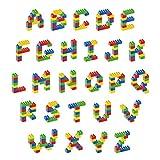 decalmile Alfabeto Pegatinas de Pared Decorativas Adhesiva ABC Pegatinas Calcomanía de Pared Removible para Guardería Habitación Infantiles Niños Bebés