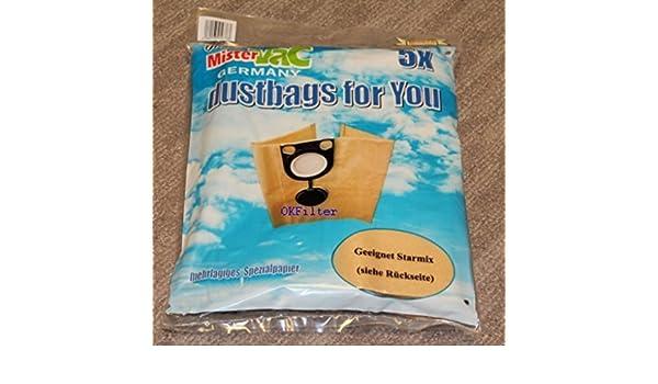 10 Sacs pour Aspirateur Filtre paperbags Poussière convient pour Metabo ASR 35 H