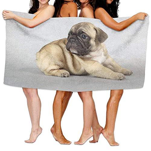 Badetücher, sehr saugfähiges Mikrofaser-Strandtuch für Männer und Frauen, Kinder, Mops, Picknick-Matte Bar Mop
