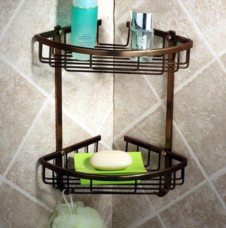 PinWei@ Mensole bagno bagno angolo&Bagno ripiani in vetro&Mensole bagno in