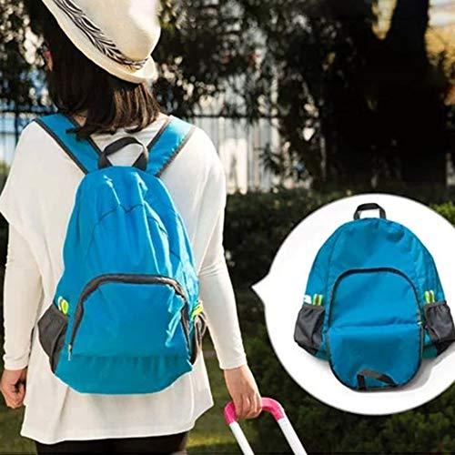 5da9d2872d6c Deasengmin Hiking Bag Rucksack Lightweight Foldable Waterproof Nylon Women  Men Casual Skin Pack Backpack Travel Outdoor