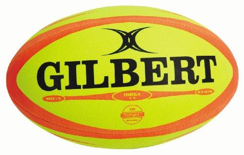 Gilbert Omega Ballon de rugby de match pour homme