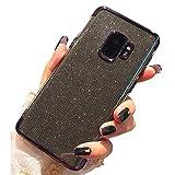 Miagon 2-1 Glitzer Hülle für {Samsung Galaxy Note 9},Luxus Glitzer Bling Überzug Hülle Handyhülle Slim Case Schale Leicht Dünn Schutzhülle Glänzendes