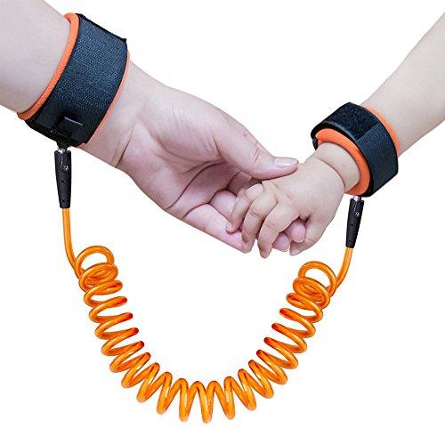 Baby Antiverlust Gürtel Kind Sicherheit Geschirr Kinder Handgelenk Leine Strap - Orange