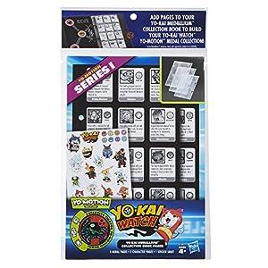 Yokai Watch Páginas coleccionables para album de medallas, versión española (Hasbro B7499105)