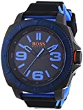 BOSS Orange Herren-Armbanduhr XL Sao Paulo Analog Quarz Silikon 1513108