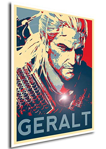 """Instabuy Poster The Witcher 3"""" Propaganda Geralt - A3 (42x30 cm)"""