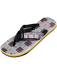 IndiWeaves Men's Soft Rubber Flip-Flops And House Slippers Hawaii Flip-Flops Hawaii Slippers