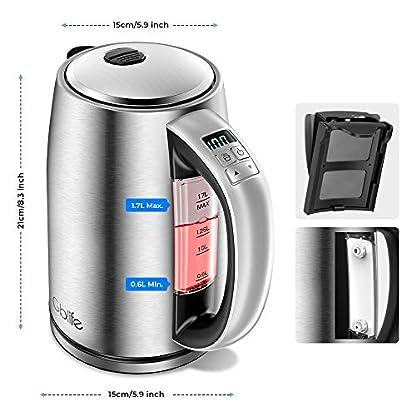 Wasserkocher-Elektrischer-Wasserkessel-Edelstahl-2200W-17L-mit-LCD-Farbwechsel-und-Temperatureinstellung-60-100C-AlarmWarmhaltefunktion-Wassertemperatur-Wasserstandsanzeige