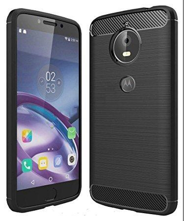 M.G.R.J Shock-Proof Hybrid TPU + Tempered Glass [ Combo Pack ] for Motorola Moto E4 Plus