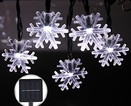 Solare per esterni luci decorative inngree 6 m 30 led solar sfera