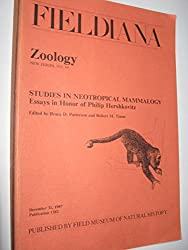 Studies in Neotropical Mammalogy: Essays in Honor of Philip Hershkovitz