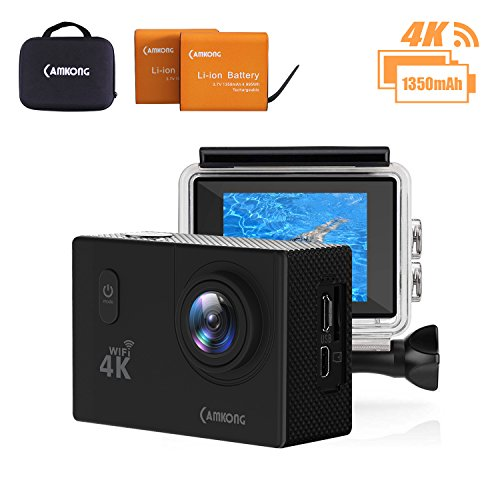 CAMKONG-Action-Kamera-WIFI-sports-cam-4K-camera-20MP-Ultra-Full-HD-Helmkamera-wasserdicht-mit-2-1350mAh-verbesserten-Batterien-Transporttasche-und-Zubehr-Kits