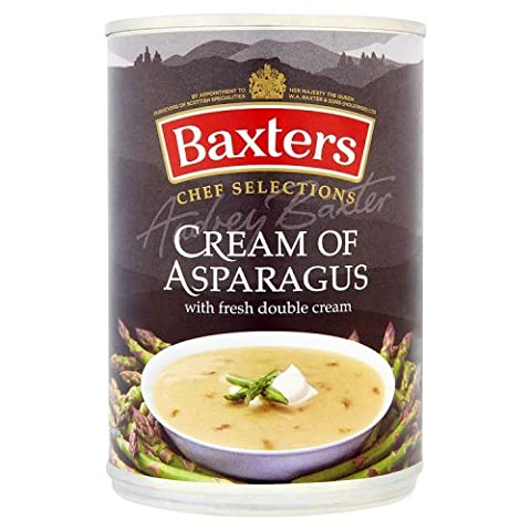 Baxters Luxyry Cream of Asparagus Soup with Fresh Double Cream,