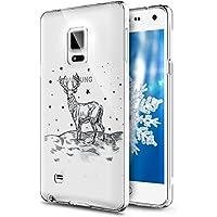 Galaxy Note 5 Hülle,Galaxy Note 5 Silikon Hülle Tasche Handyhülle,SainCat Christmas Weihnachten Muster TPU Schutz... preisvergleich bei billige-tabletten.eu