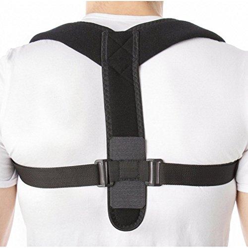 Corrector Postura-Soporte para Espalda-Cinturón Para Alivio Dolor de Espalda-Apoyo La Columna Vertebral-Cifosis-Corrige Mala Postura-Para Hombre y Mujer M