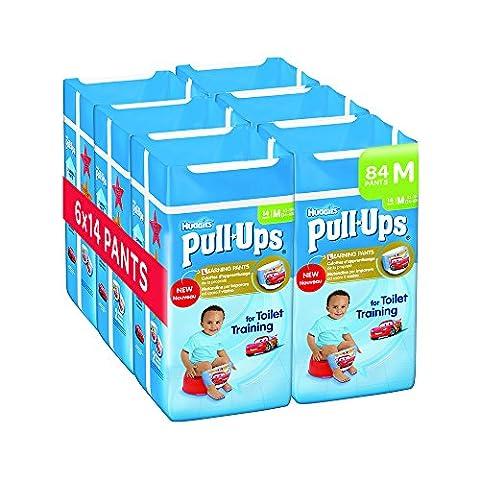 Huggies Pull-Ups Pack de 6 x 14 couches jour pour garçon