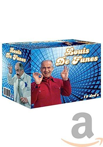 Coffret Louis de Funes - Maxi Box 1: LE GRAND RESTAURANT / L'HOMME ORCHESTRE / CARAMBOLAGES / HIBERNATUS / OSCAR / LA FOLIE DES GRANDEUSR / TAXI,ROULOTTE ET COORIDA / FRIPOUILLARD & CO / DES PISSENLITS PAR LA RACINE / POISSON D'AVRIL / UN DROLE DE CAID / LA BELLE AMERICAINE / FANTOMAS / FANTOMAS SE DECHAINE / FANTOMAS CONTRE SCOTLAND YARD (Coffret 15 DVD) [import langue Francais]