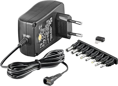 Goobay Universal-Netzteil mit max. 27W / 2250mA inkl. 8 Adapterstecker DC