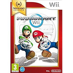 Nintendo Selects : Mario Kart – Game only (Nintendo Wii) [UK IMPORT] [Spiel auf Deutsch]