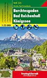 Berchtesgaden - Bad Reichenhall - Königssee, Wanderkarte 1:25.000, WKD 5, freytag & berndt Wander-Rad-Freizeitkarten - Freytag-Berndt und Artaria KG