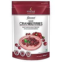 Rostaa Sliced Cranberries, 200 gm