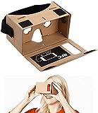 Gankarii - DIY Google Cardboard Headset 3D Virtual Reality VR Googles for Android Smart Phones iPhone 6s
