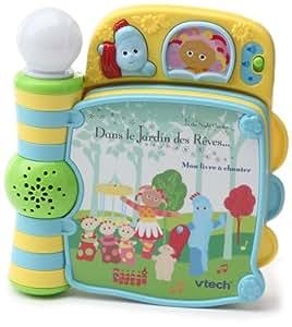 vtech 80 105105 eveil jardin des r ves mon livre chanter jeux et jouets. Black Bedroom Furniture Sets. Home Design Ideas