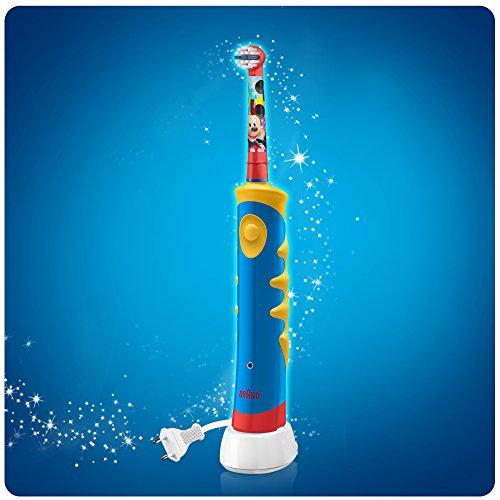 ... Oral-B Stages Power Kids - Cepillo de dientes eléctrico de Mickey Mouse  ... f546e341c70c